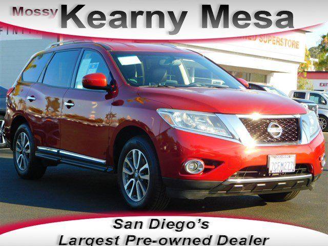 2013 Nissan Pathfinder For Sale In San Diego San Diego Area Dealership