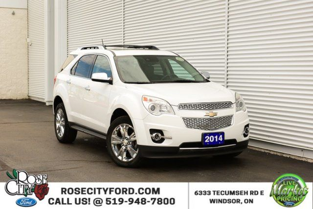 2014 Chevrolet Equinox LTZ / ACCIDENT FREE / LEATHER / SUNROOF / BACK UP CAM
