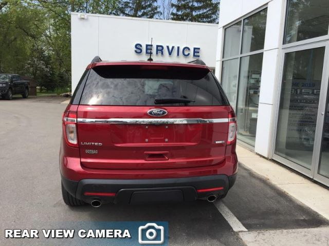 2014 Ford Explorer Limited  - Trade-in - Leather Seats - $174 B/W