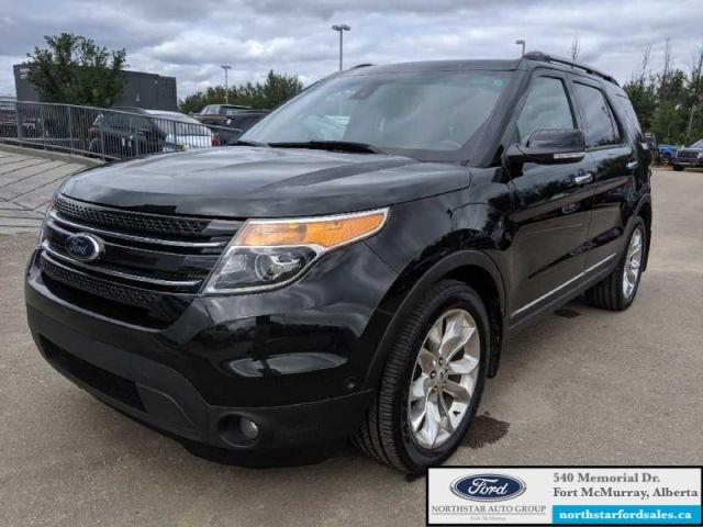 2014 Ford Explorer Limited  |3.5L|Rem Start|Nav|Dual Panel Moonroof|2nd Row Console