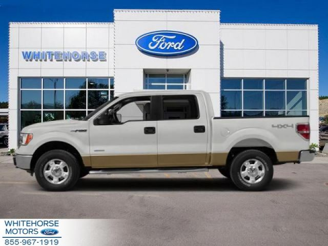 2014 Ford F-150 4X4-SUPERCREW XLT- 145 WB  - $198 B/W