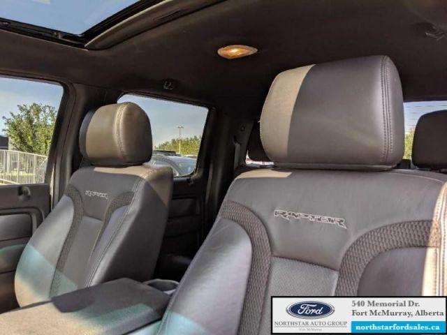 2014 Ford F-150 SVT Raptor   6.2L Rem Start Nav Moonroof Roush Exhaust