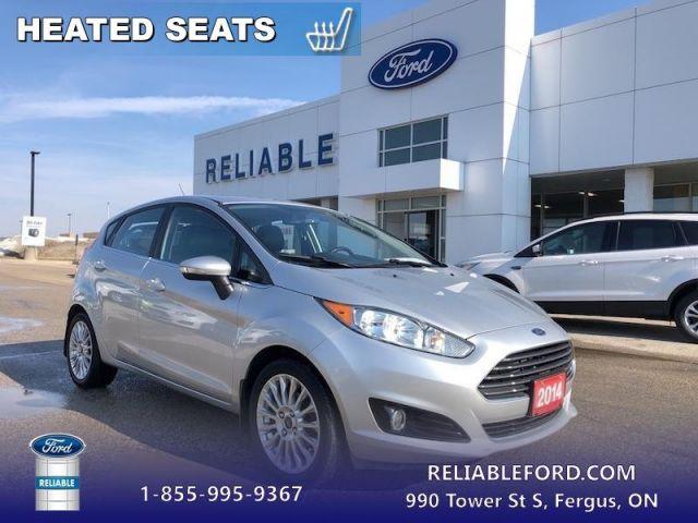 2014 Ford Fiesta TITANIUM  - Sunroof -  Bluetooth - $61.86 B/W