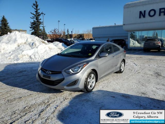 2014 Hyundai Elantra Coupe | CLOTH| MANUAL| COUPE| CLEAN CARFAX| - $71 B/W