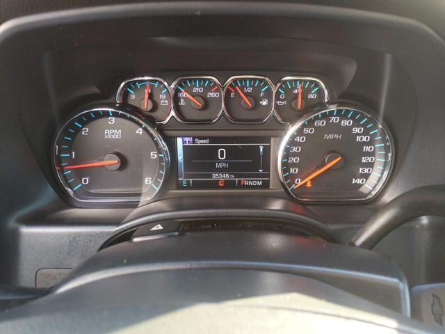2015 Chevrolet Silverado 1500 4WD Crew Cab 143.5 LT w/1LT