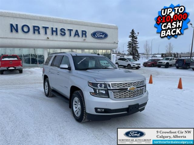 2015 Chevrolet Tahoe LT  |LEATHER| SUNROOF| 7 SEATER| 4X4|