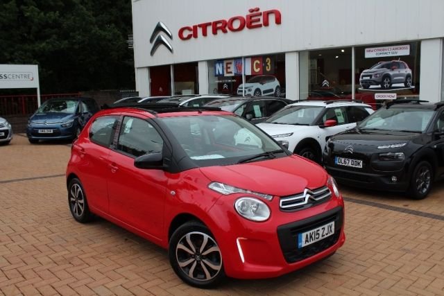 Used 2015 Citroen C1 10 Vti Feel Edition Airscape 5dr Petrol Manual