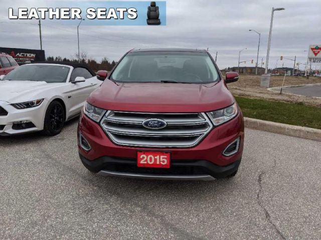 2015 Ford Edge SEL  /Leather/Navigation/Panoramic Sunroof