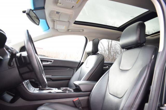 2015 Ford Edge TITANIUM  AWD | MOONROOF | LEATHER | HEATED & COOLED SEATS | REA