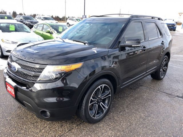 2015 Ford Explorer SPORT  - Leather Seats -  Bluetooth - $224.74 B/W