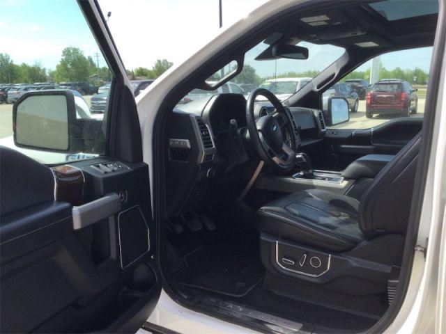 2015 Ford F-150 PLATINUM CREW 4X4  - Navigation