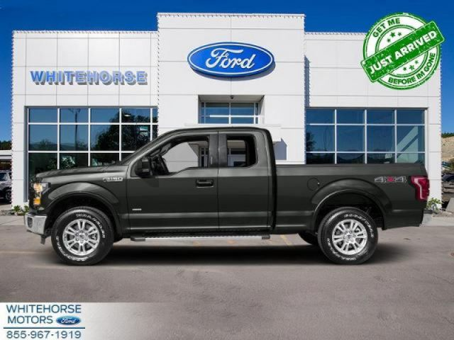 2015 Ford F-150 4X4-SUPERCAB XLT-145 WB