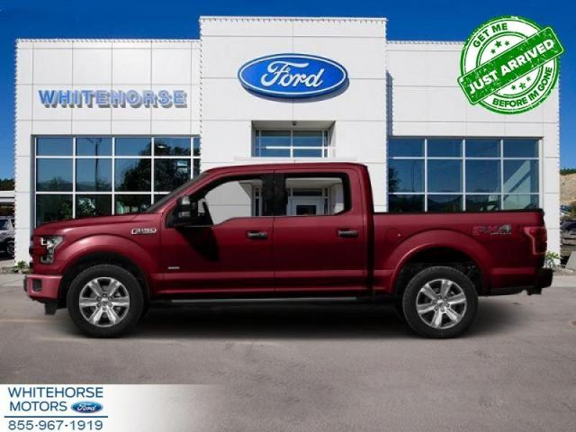 2015 Ford F-150 4X4-SUPERCREW LARIAT-157 WB