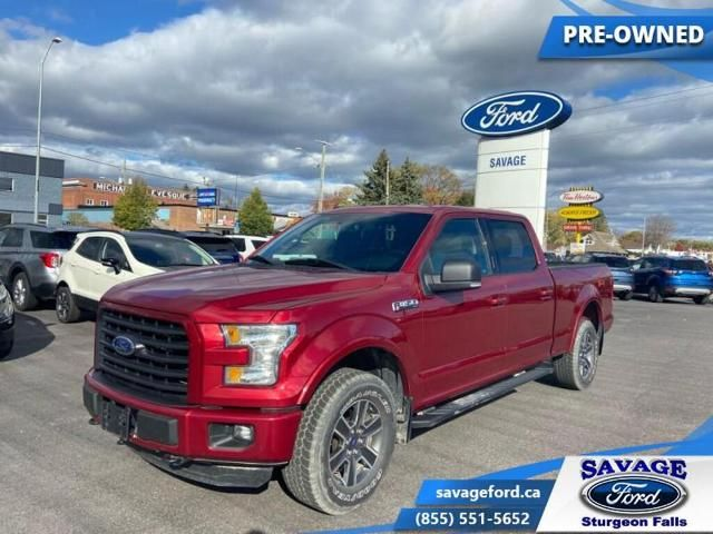 2015 Ford F-150 XLT-TRADE-IN-BACK UP CAMERA-258 B/W