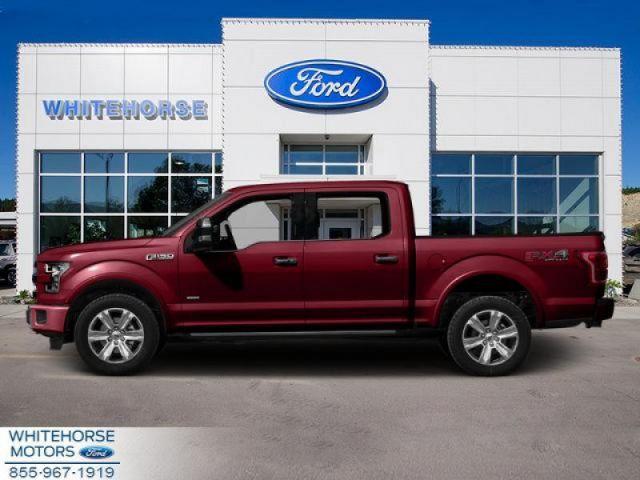 2015 Ford F-150 4X4-SUPERCREW PLATINUM-157 WB  - $305 B/W