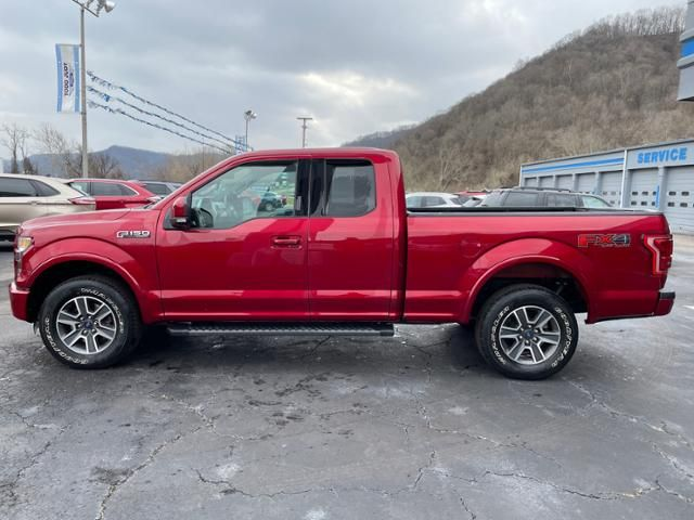 2015 Ford F-150 4WD SuperCab 145 Lariat