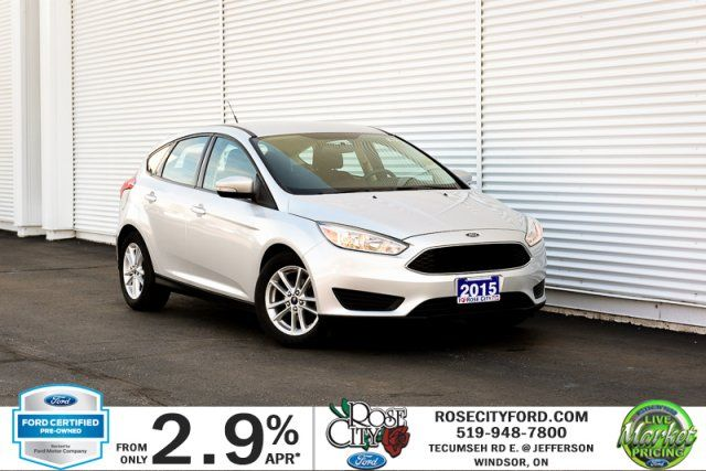 2015 Ford Focus SE / CERTIFIED / Accident Free / Heated Seats / Bluetooth
