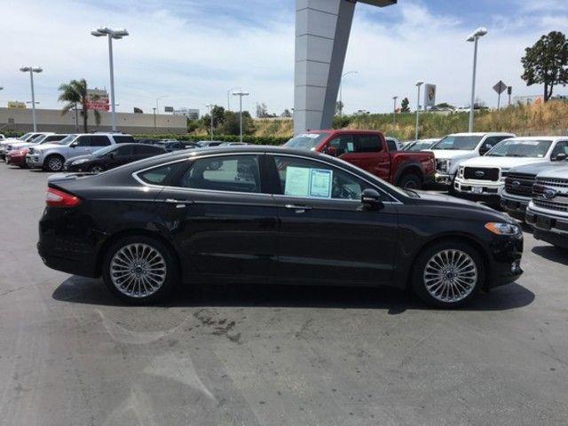 2015 Ford Fusion 4dr Sdn Titanium FWD