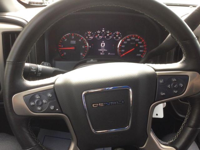 2015 GMC Sierra 1500 DENALI CREW 4X4 W/CAP  - Navigation