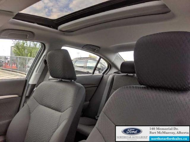 2015 Honda Civic Sedan EX   1.8L Rem Start Reverse Sensing System with Camera