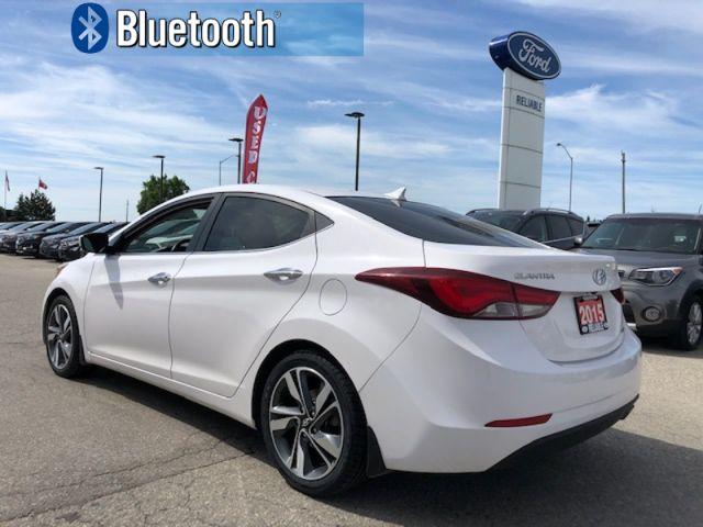 2015 Hyundai Elantra LIMITED  - Sunroof -  Navigation - $104.21 B/W