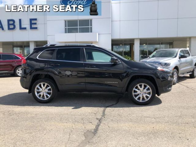 2015 Jeep Cherokee LIMITED   - Leather Seats -  Bluetooth-Tech Package-Luxury Group