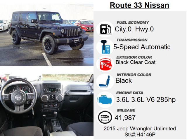 2015 Jeep Wrangler Unlimited Willys Wheeler Edition