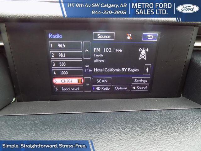 2015 Lexus IS 250 AWD 6A