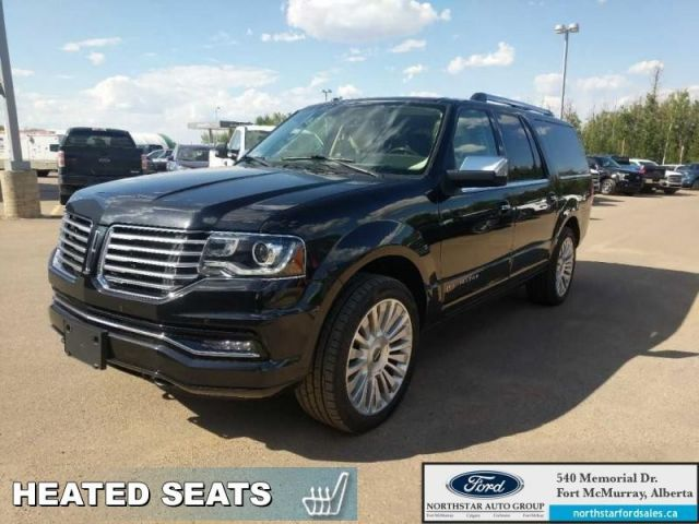 2015 Lincoln Navigator L Reserve|3.5L|Rem Start|Nav|Moonroof|2nd Row Bucket W/ Console|DV