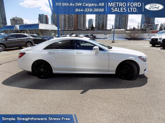 2015 Mercedes Benz CLS-Class 4MATIC Coupe