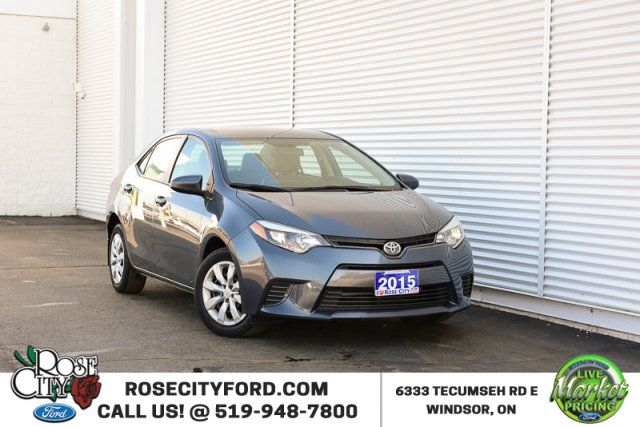 2015 Toyota Corolla CE / Accident Free / Backup Cam / Bluetooth