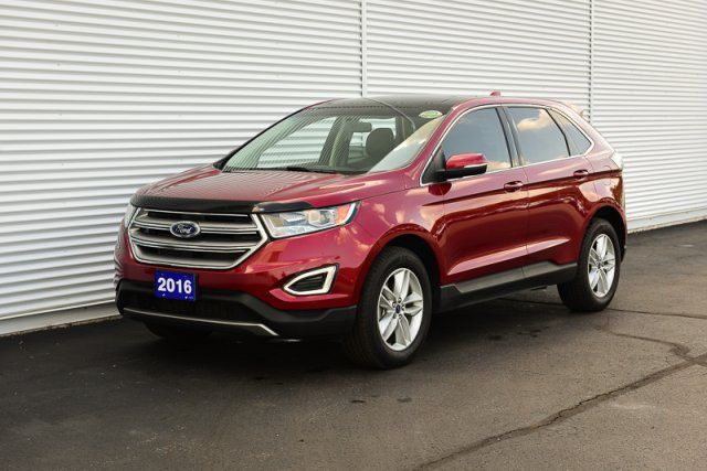2016 Ford Edge SEL / ACCIDENT FREE / HEATED LEATHER / TRAILER TOW PKG
