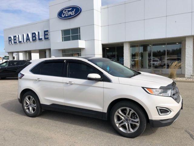 2016 Ford Edge Titanium  - Leather Seats -  Bluetooth - $190 B/W