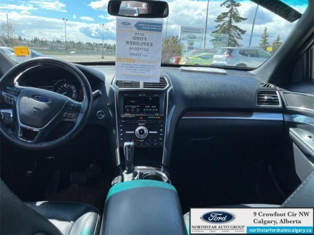 2016 Ford Explorer Limited  |LEATHER| MOONROOF| NAV| ADAPTIVE CRUISE| - $252 B/W