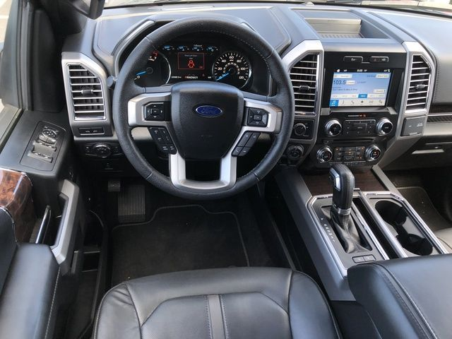 2016 Ford F-150 2WD SuperCrew 157 Platinum