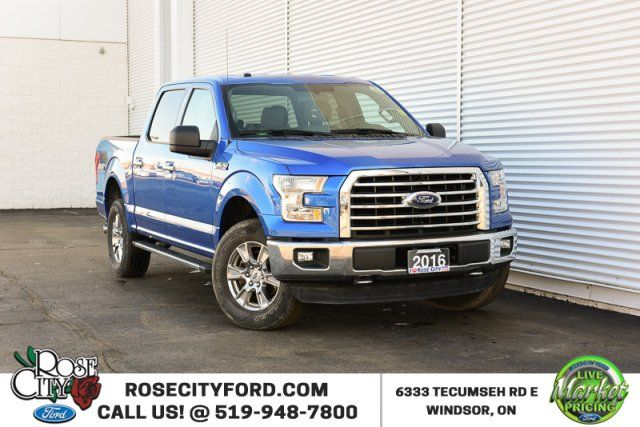 2016 Ford F-150 XLT/XTR / 4x4 / Accident Free / Backup Cam / SYNC