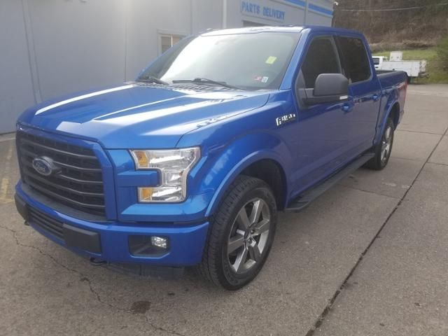 2016 Ford F-150 4WD SuperCrew 145 XLT
