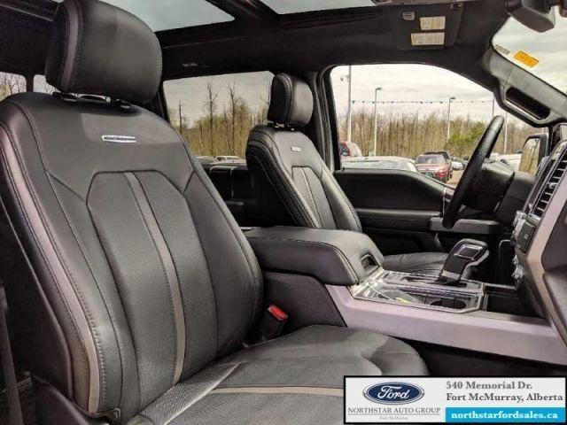2016 Ford F-150 Platinum  |5.0L|Rem Start|Nav|Twin Panel Moonroof|Tech Pkg