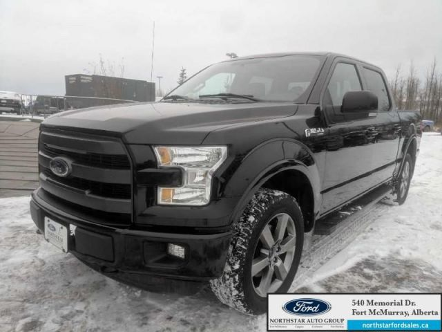2016 Ford F-150 Lariat  |5.0L|Rem Start|Nav|Twin Panel Moonroof|Sport Pkg