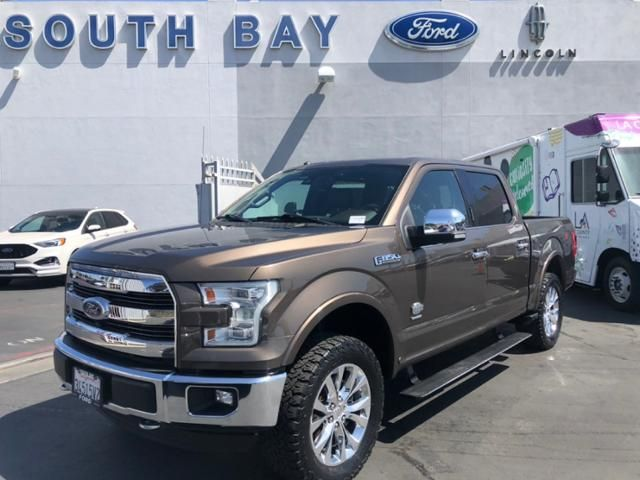 2016 Ford F-150 4WD SuperCrew 145 King Ranch