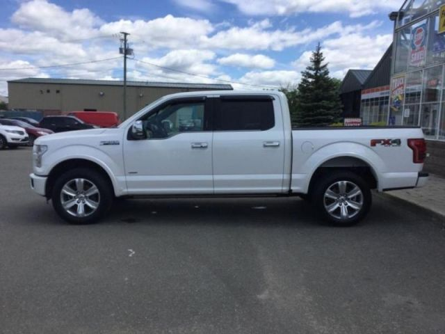 2016 Ford F-150 PLATINUM-172.45/WK PANORAMIC ROOF POWER DEPLOYABLE