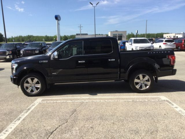 2016 Ford F-150 Platinum  - Leather Seats