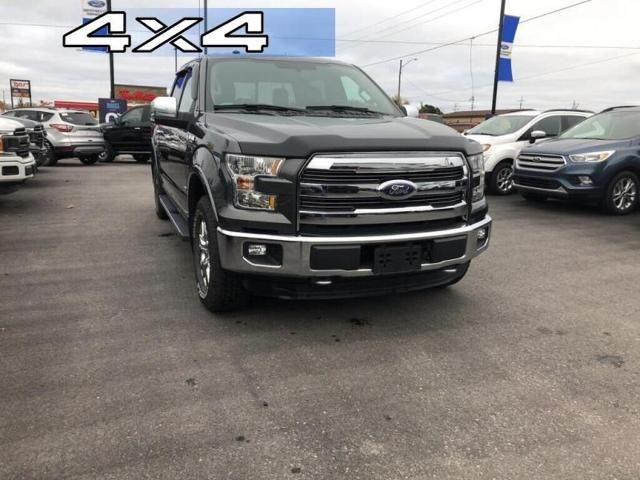 2016 Ford F-150 LARIAT-LOW MILEAGE-NAVIGATION-LEATHER SEATS