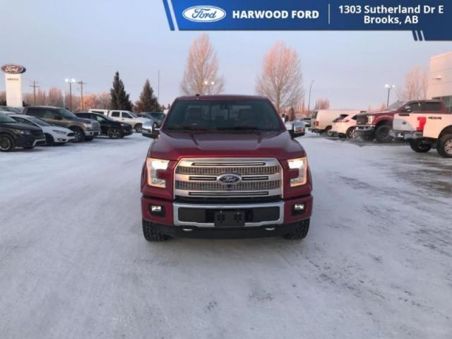 2016 Ford F-150 PLATINUM-NAVIGATION-TWIN SUNROOF-325 B/W