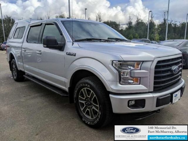 2016 Ford F-150 XLT  |5.0L|Rem Start|Nav|Sport Pkg|Canopy|Low Mileage