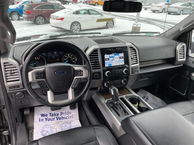 2016 Ford F-150 4WD SuperCrew 157 Lariat
