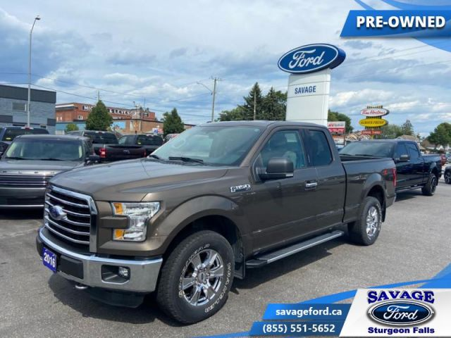2016 Ford F-150 XLT  - Trade-in - One owner - Back Up Camera - $227 B/W
