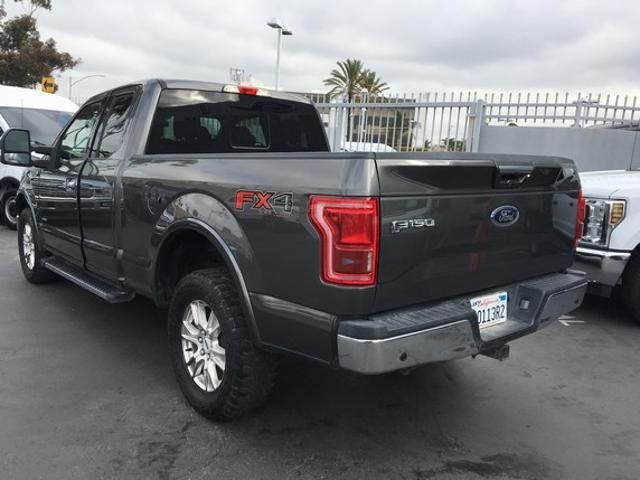 2016 Ford F-150 4WD SuperCab 145 Lariat