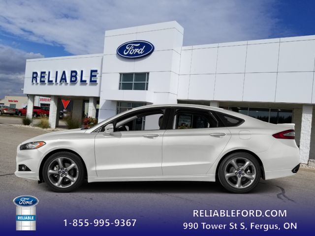 2016 Ford Fusion S Bluetooth Sync White Reliable Ford