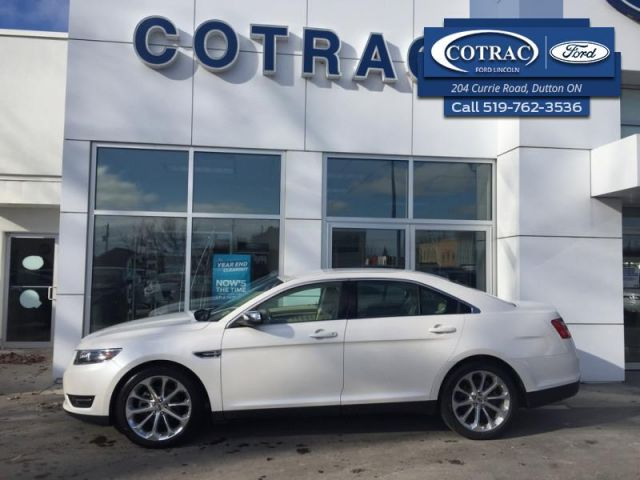 2016 Ford Taurus Limited  - Trade-in - Leather Seats - $169 B/W